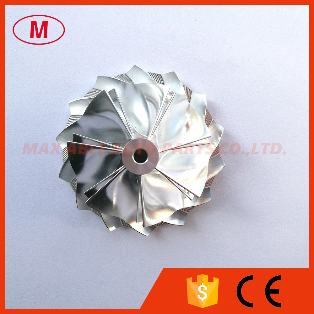 K04 49 62x61 98mm 7 7 blades High performance Design Turbo Billet compressor wheel Aluminum 2618