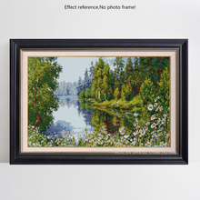Huacan DIY Diamond Embroidery Flowers 5D Nature Scenery Picture Full Square Rhinestones Needlework Hobby Home Decoration
