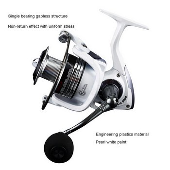 14BB Spinning Fishing Reel HC1000 - 7000  Full Metal handle Body Carp Fishing Reel Spinning Reel rock fish