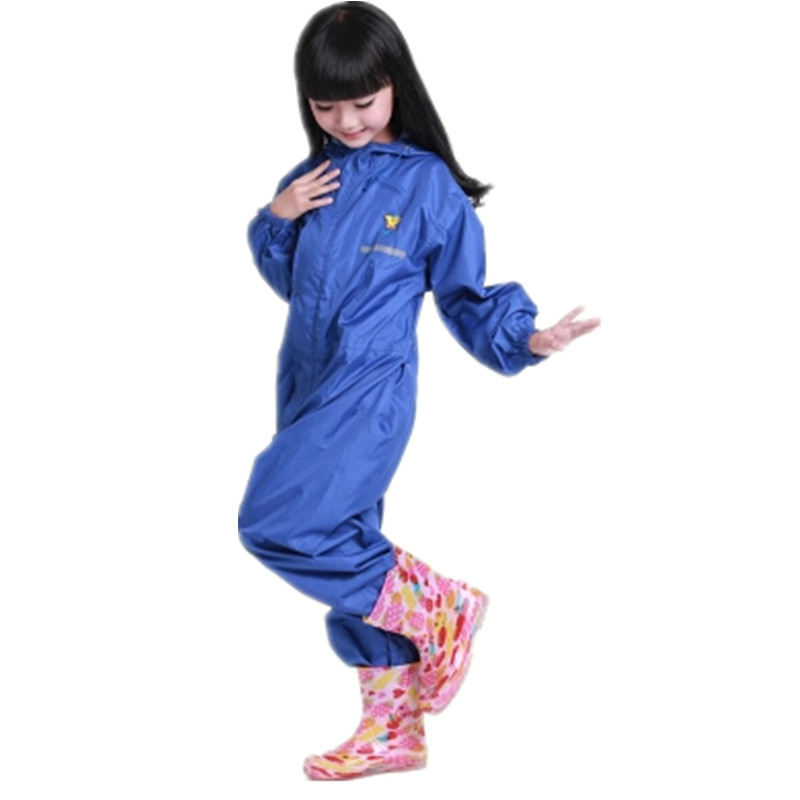Waterproof Raincoat For Children Pants Baby Rain Coat Pnocho Kids Rainsuit Outdoor Boys Girl Raincoats For Children