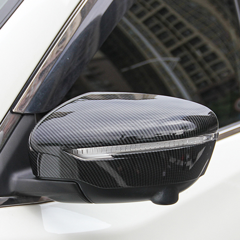ABS Car Side Door Rearview Mirror Turning Trim For <font><b>Nissan</b></font> X-Trail T32 Rogue Rogue-Serena C27-<font><b>Qashqai</b></font> J11-Murano-Juke--Pathfinder image