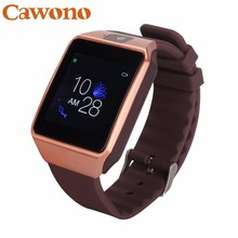 Cawono G12 Bluetooth Smart Watch with Camera font b Smartwatch b font Support TF SIM card