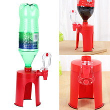 2.0 Upside Down Automatic Drink Dispenser Soda Bottle Drinking Hand Pressure Fountains Coke