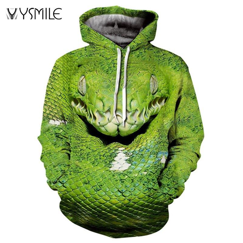 Men&Women Hoodies Hoody Sweatshirts Snake 3D Print Animal Couple Plus Size Hoodie Pullovers Autumn Windbreaker Outwear Tracksuit
