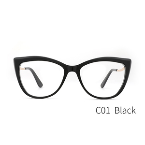 Image 4 - Donne in acetato Occhiali Da Vista Ottico Lente Occhiali Da sole Donne Miopia Occhiali Da Vista Frames Occhiali di Modo di Tendenza Verde #9015