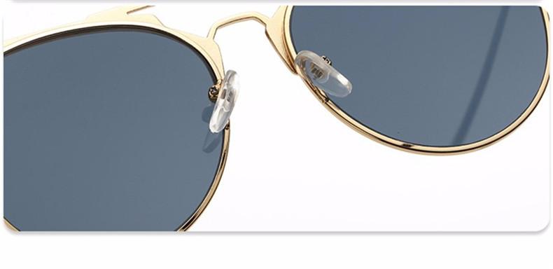 HTB19QymjRUSMeJjy1zkq6yWmpXat - Luxury Vintage Round Sunglasses Women Brand Designer 2018 Cat Eye Sunglasses Sun Glasses For Women Female Ladies Sunglass Mirror