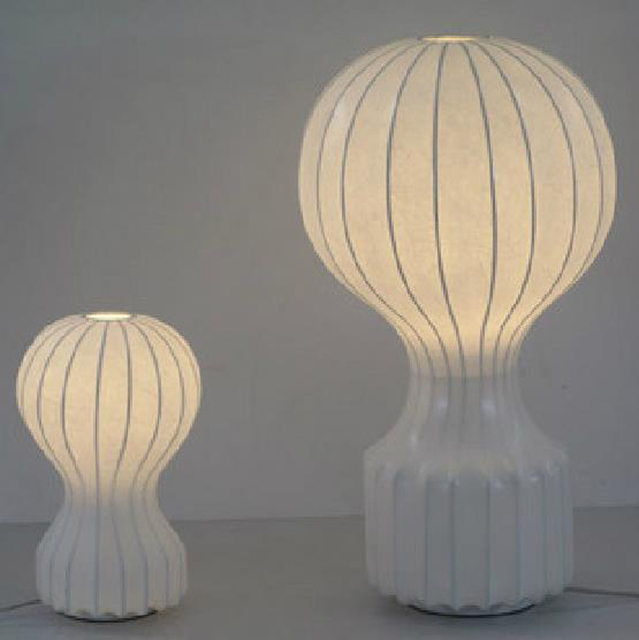 Creative Airship Upscale Modern Minimalist Table Lamp Hot Air Balloon Silk Floor Lighting Fixture