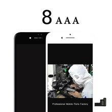 Bezpłatne DHL 5 sztuk najwyższej jakości AAA dla iphone 8 8G wyświetlacz lcd z 3D dotykowy zamienny moduł ekranu 100% test befrore wysyłka