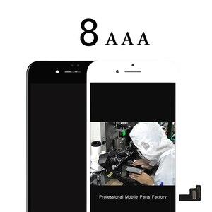 Image 1 - Freies DHL 5 stücke Top qualität AAA für iphone 8 8G lcd display mit 3D touch screen ersatz 100% test befrore verschiffen