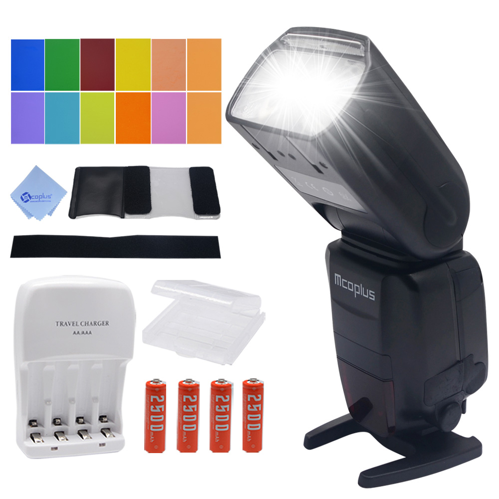 Mcoplus MT600SC GN62 Master Flash HSS 1/8000S E-TTL Flashgun Flash Speedlite for Canon EOS DSLR 500D 550D 600D 650D 700D 70D 7D kicx sc 600 1