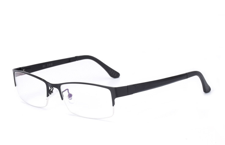 Eyesilove men's myopia glasses fashion half-rim business Nearsighted Glasses customized prescription eyeglasses single vision
