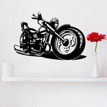 Cool Harley motorcycle Wall Art Sticker Murals Decor For Kids Rooms Home Decoration Decals
