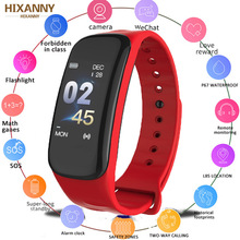 Smart Band VS C1 Plus Smart Bracelet Fitness Tracker Waterproof Heart Rate Monitor Blood Pressure Smart Watch Men Women PK F1 C1 цена