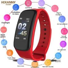 купить Smart Band VS C1 Plus Smart Bracelet Fitness Tracker Waterproof Heart Rate Monitor Blood Pressure Smart Watch Men Women PK F1 C1 по цене 363.43 рублей