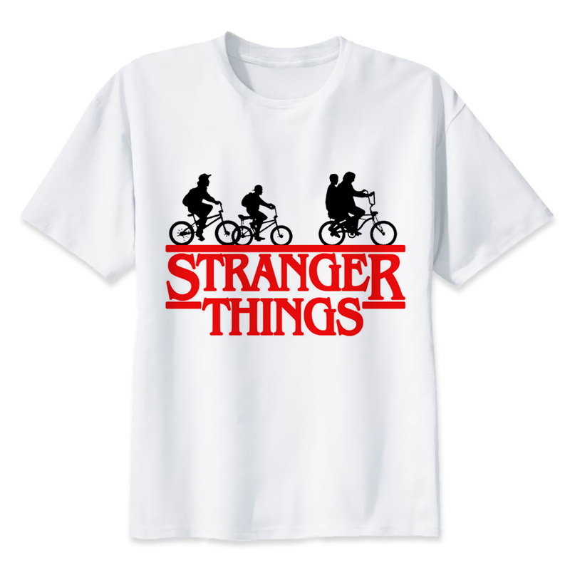 30 arten von Fremden Dinge T-Shirt Hohe Qualität 2017 Mode lustig männer Neuheit T-shirt Sommer Hipster Coolen Männlichen Tops tees