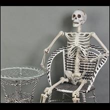 Пластик Скелет дом с привидениями украшения гардероб Escape бар Хэллоуин реквизит имитация скелет