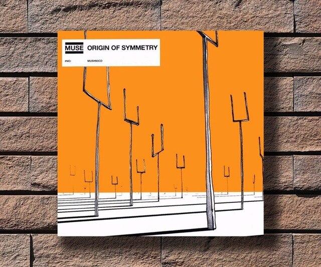Y554 Muse Origin Of Symmetry Music Rapper Album Cover Hot Poster Art Canvas Print Decoration 16x16