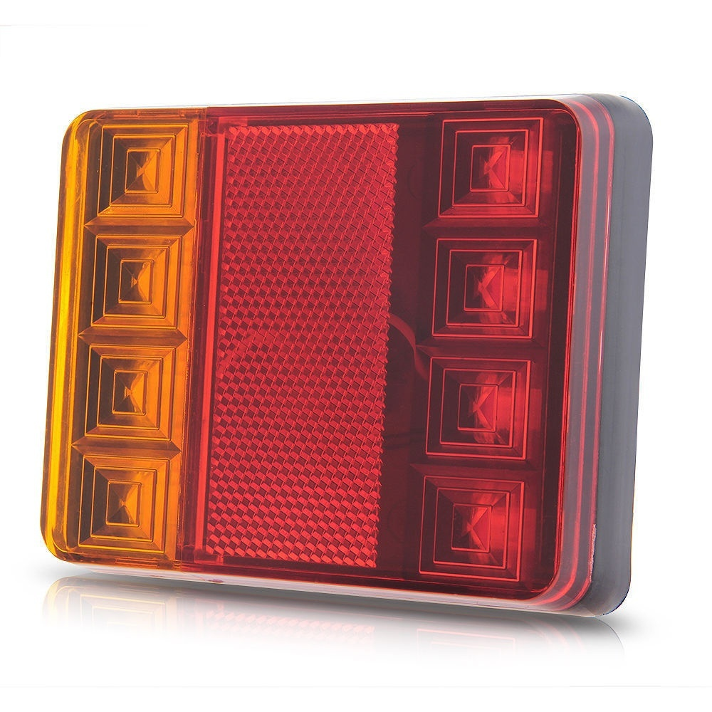Promotion! 8 LED DC12V Waterproof Taillights Rear Tail