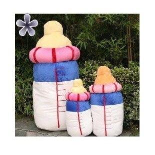 Creative Plush Toy Cute Baby Bottle/Milk Bottle Shape Cushion Stuffed Pillow Home Decoration Car Cushions Kids Toys 30/40/60cm