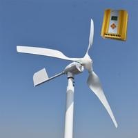 800W Rated Power 600w Windmill With Wind Solar Hybrid MPPT 12v 24v AUTO Hybrid Controller