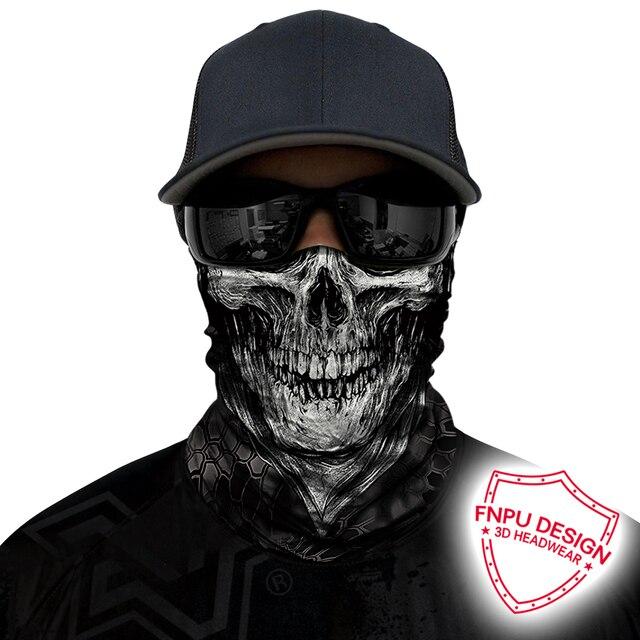 BJMOTO Windproof Multicolor Magic Head Face Mask Neck Gaiter Snood Headwear Motorcycle Cycling Tube Scarf Men Women Headband 1