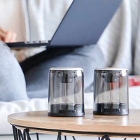 2019 new crystal TWS Bluetooth speaker separated combined box outdoor portable Bluetooth speaker with magnetic for pandora music