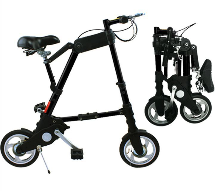 10 Inch Enhanced A Bike Electric Folding Bicycles City Leisurely