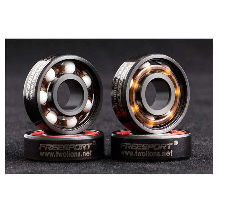 1 Piece 608 SKATING CERAMIC Bearing 7pcs Radial Ball Bearings High Speed  Mute For Skating Scooter Shoes Accessories