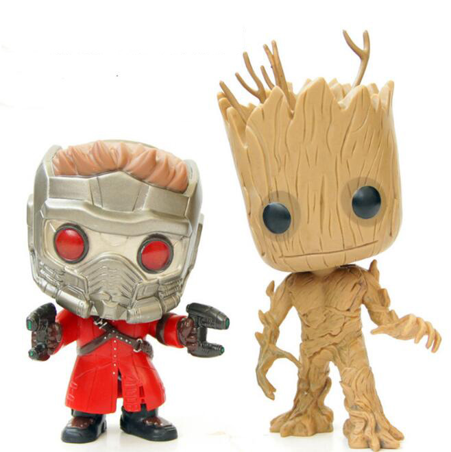 1Pcs/set Cool Groot Tree Man Mask Star Lord Funko Pop Guardians of the Galaxy Action Figure Collection Toys new funko pop guardians of the galaxy tree people groot