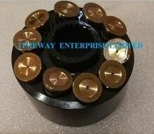 Replacement hydraulic pump for KAYABA PSVD2 17E pump parts cylinder block piston repair kit