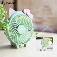 Baseus Outdoor Protable Handheld Mini Fan Battery Rechargeable USB Fan 1500 2000mAh Battery Home Desktop Personal