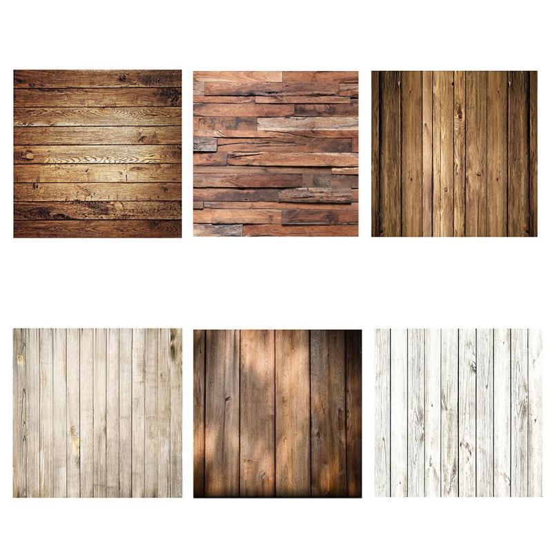 Retro Wood Photography Backdrops Studio Video Photo Background Decoration