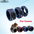 5 Color Tube Ring For Canon EOS 550D 1100D 1000D 5D3 650D 600D DSLR Camera AF Mount Auto Focus Macro Extension EF-S Lens Adapter
