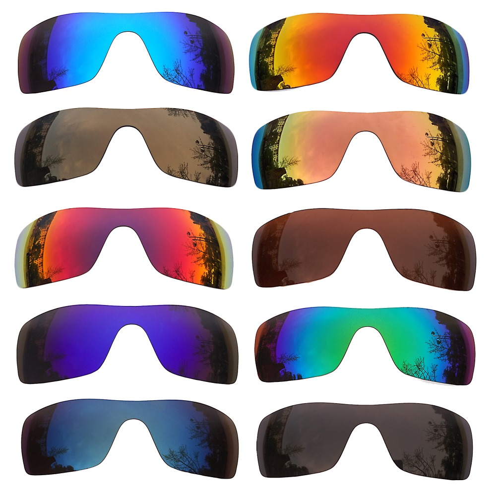 PAZZERBY Replacement Lenses For Batwolf Sunglasses - Multiple Options Anti-reflective