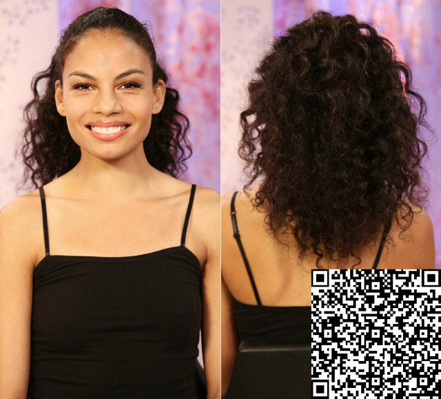 Culy Indian Unprocessed Natural Human Hair Ponytail Extension 100