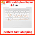 99% NEW A1181 white keyboard topcase for macbook 13.3'' A1181 keyboard topcase plarmrest with keyboard screws screw driver