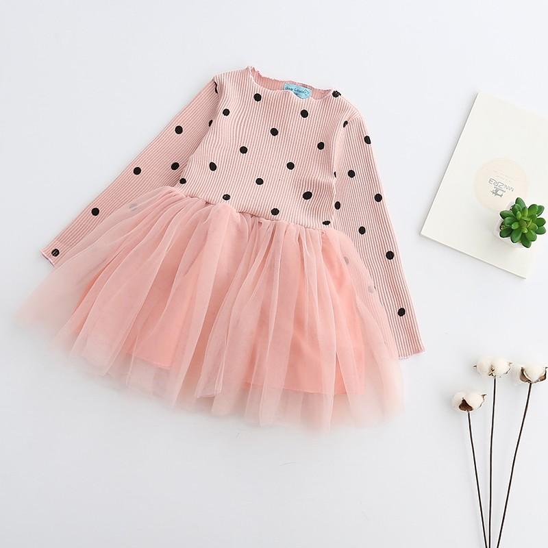 HTB19R38OVXXXXbsXXXXq6xXFXXXE - Bear Leader Girls Dress Princess Dress 2017 Brand Girls Dress Children Clothing Ball Gown Dot Print Kids Clothes Girls Dresses