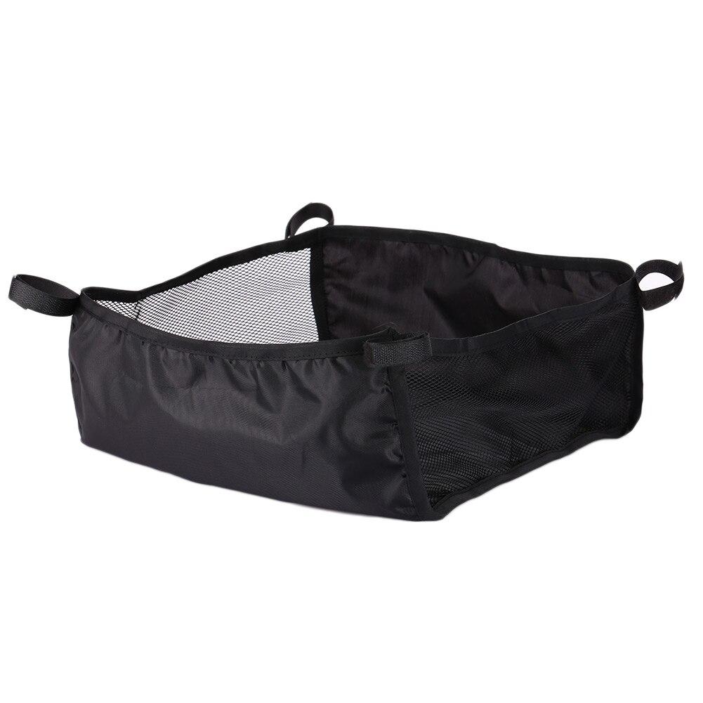 Коляска для новорожденных корзина для коляски Органайзер корзина для коляски креативная 2 размера Портативная сумка для подгузников - Цвет: Large size