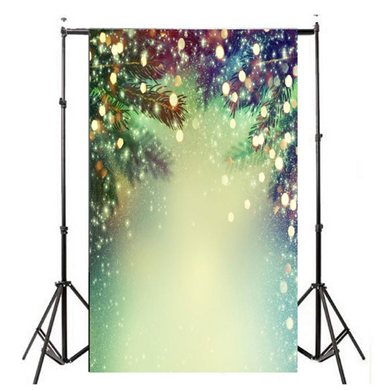 3x5ft Photography Vinyl Background Christmas Tree Children Photographic Backdrops for Studio Photo Props 0.9m x 1.5m