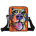 Staffordshire Bull terrier / German Shepherd Messenger Bag Bulldog Women Handbag Boys Girls Mini Cross Bags Kids Gift Book Bags