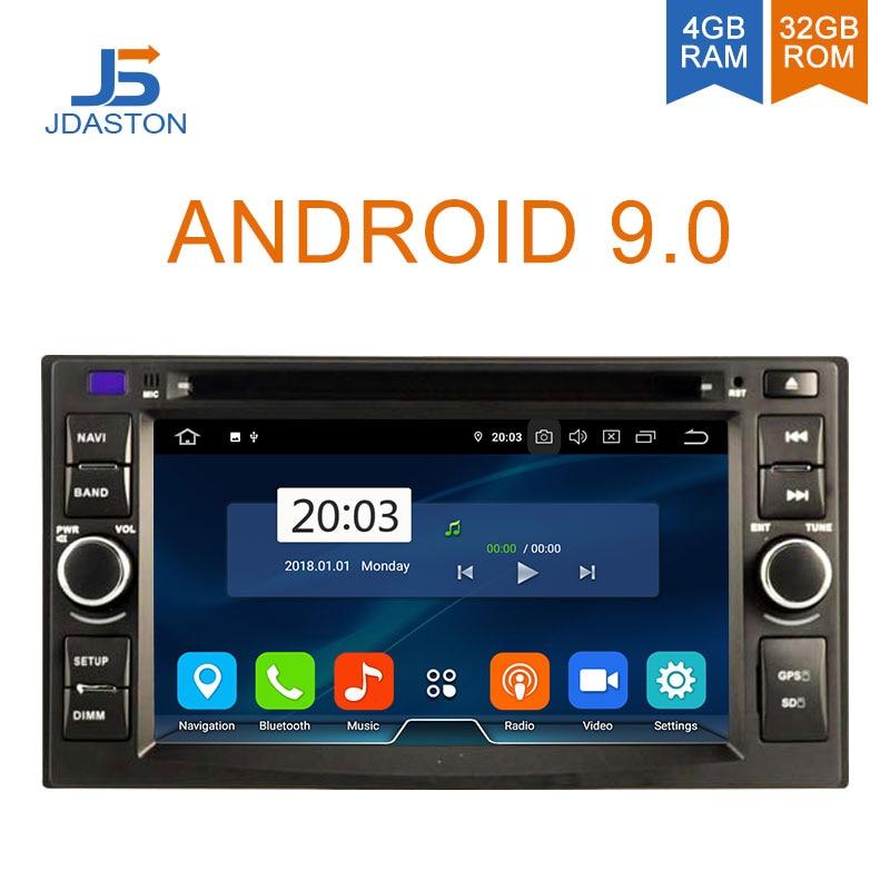 JDASTON Android 9.0 Jogador Do Carro DVD Para PEUGEOT 3008 5008 2009 2010 2011 WIFI GPS de Navegação Multimídia 2 Din Carro rádio 4 GB de RAM