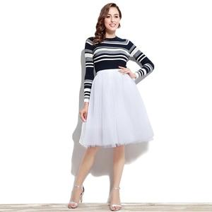Image 5 - Adult Tutu Petticoat Performance Modern Dance Skirt Princess Fluffy Tulle Ballet Skirt Fairy Net Underskirt Size S to 5XL 12021