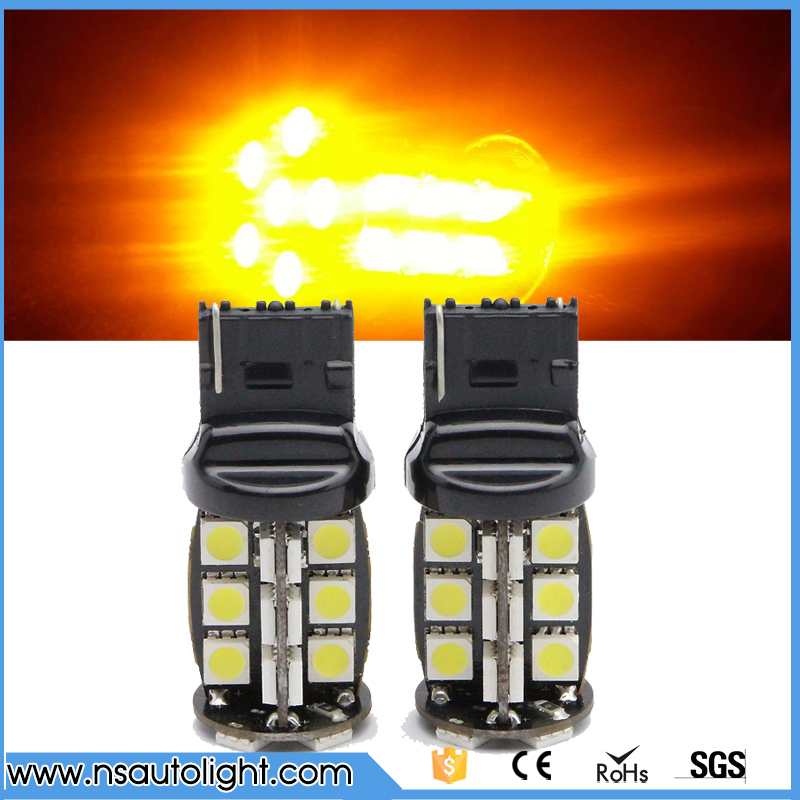 2PCs T20 Led Canbus Error Free 7440 30SMD 5050 Auto Car Lamp Backup Light Turn Light external front headlight free shipping 2pcs high quality superb error free 5050 smd 360 degrees led backup reverse light bulbs t20 for hyundai i30