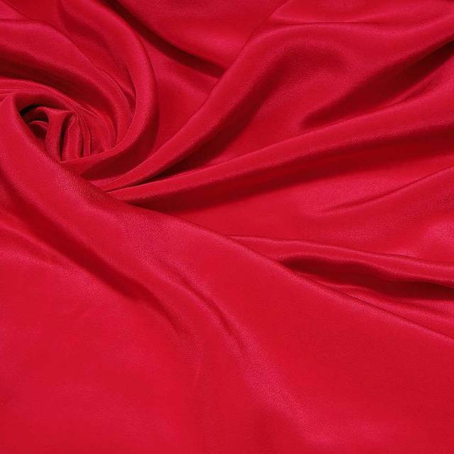 Hot Red Color 114cm Wi2de 12momme 100 Pure Silk Crepe De Chine Fabric By The Mete 1 Yard 252