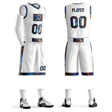 Vuelos de bricolaje baloncesto camisetas conjunto uniformes Kits jóvenes  hombres baloncesto Camisas Pantalones cortos traje de 08c2a032da33
