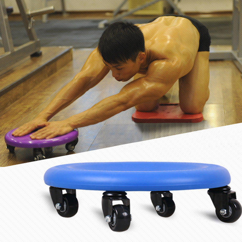 Fitness Equipment Plate Abdominal Training Wheel Abdomen ...