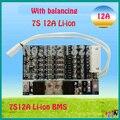 7 S 12A 25.9 V li ion BMS PCM bateria protecção bordo 29.4 V BMS PCM com equilíbrio para LicoO2 Limn2O4 24 V li bateria