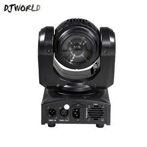 Image 5 - LED Mini Fascio Doppio Lati 4x10W + 1x10W Rotante In Movimento Testa 15/21 Canali DMX512 effetto di fase di Illuminazione di Buona Per Il Partito di Evento