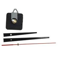 DHL 100sets DIY Clock Mechanism Hanging Black Quartz Watch Wall Movement 28mm Parts Repair Replacement Essential Tools