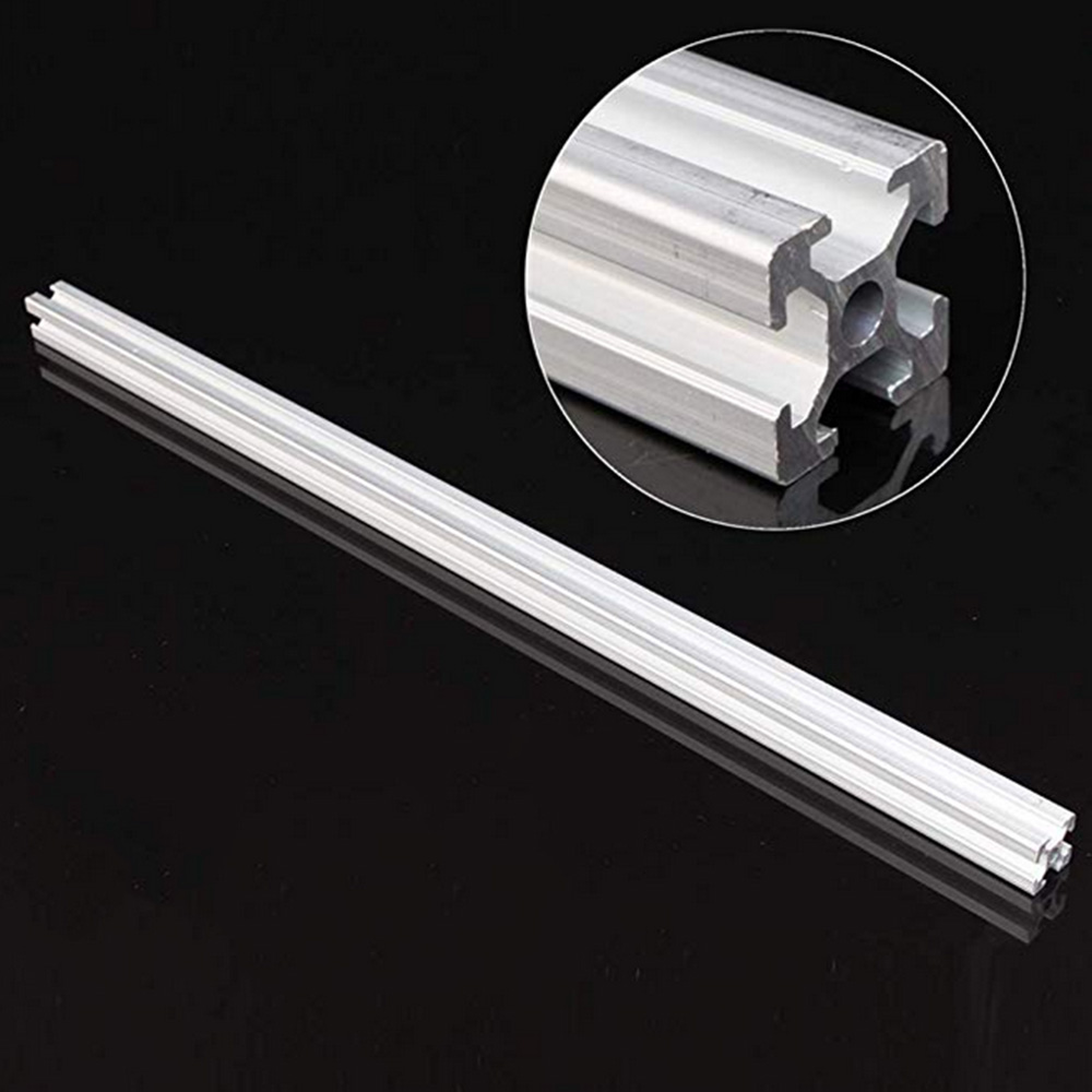 1pc 500mm Length 2020 T-Slot Aluminum Profiles Extrusion Frame For CNC 3D Printers Plasma Lasers Stands Furniture Accessories